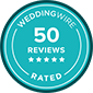 WeddingWire 50 Reviews